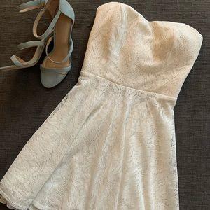 Super Cute White Lace Dress!